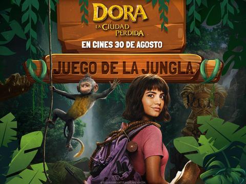 Dora y la ciudad perdida: jugando en la jungla