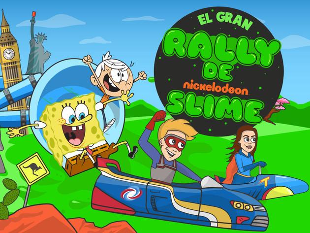 El Gran Rally de Nickelodeon Slime