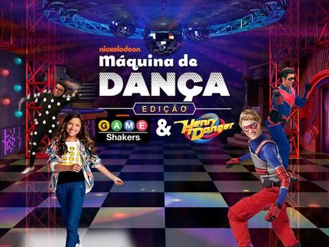 Máquina de dança Nick: Edição Henry Danger & Game Shakers