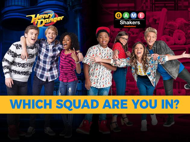 Henry Danger and Game Shakers: Which Squad Are You In?