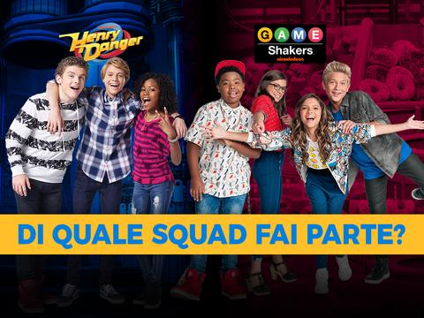 Henry Danger o Game Shakers: di quale squad fai parte?