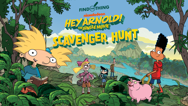 hey arnold the jungle movie uk release date