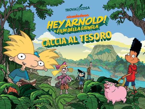 Hey Arnold: Caccia al tesoro
