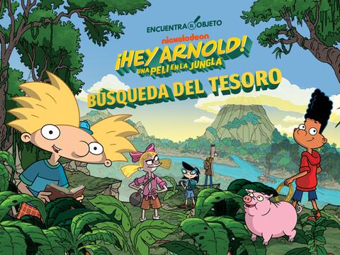 ¡Hey Arnold!: Búsqueda del Tesoro