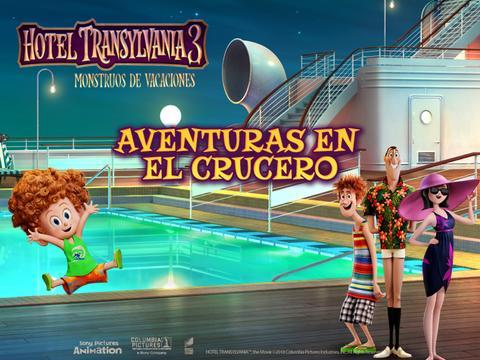 Hotel Transylvania 3: Aventuras en el Crucero