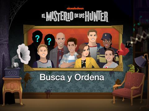El Misterio de los Hunter: Busca y Ordena