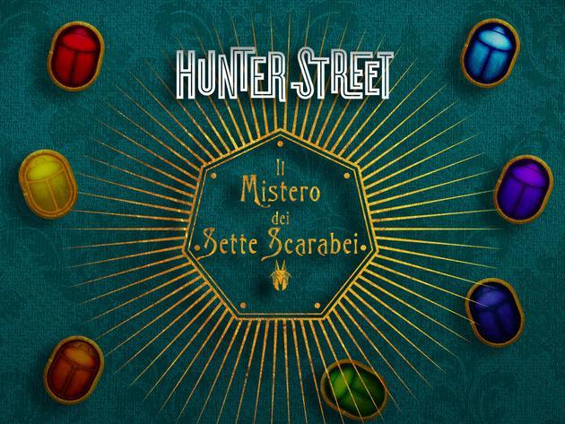 Hunter Street: Il mistero dei sette scarabei