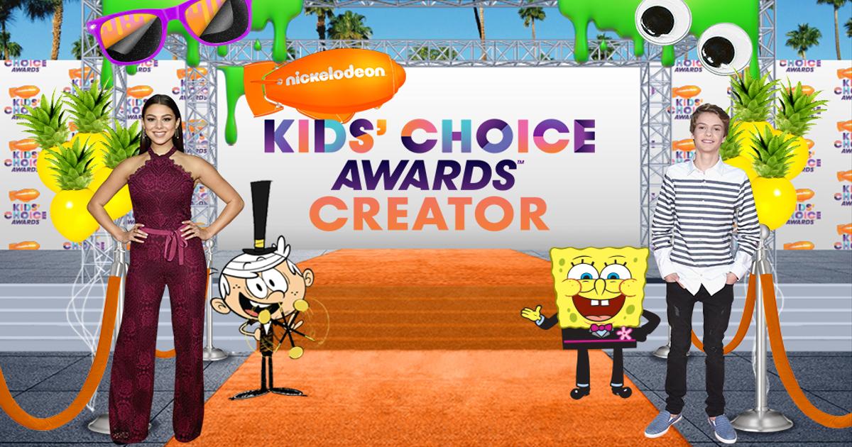 kids choice awards creator 2018 nickelodeon kids choice awards