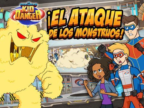 Las Aventuras de Kid Danger: ¡El ataque de los monstruos!
