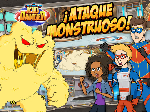 Las Aventuras de Kid Danger: ¡Ataque monstruoso!