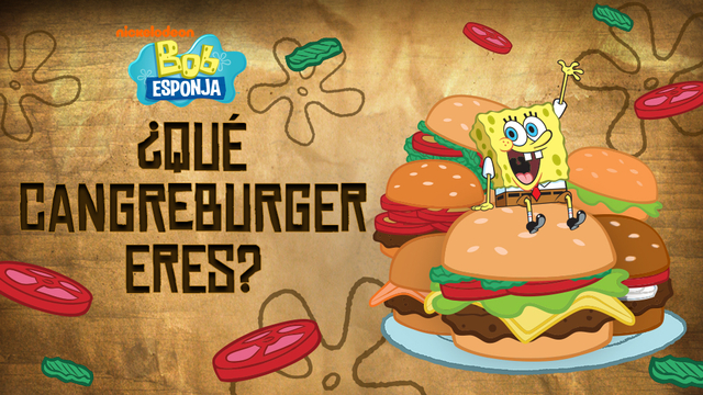 Bob Esponja Hamburguesa: SpongeBob SquarePants: Which Krabby Patty Are You? Quiz Game
