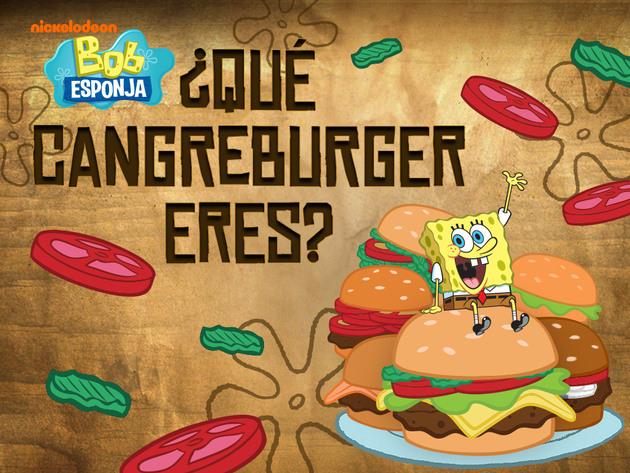 Bob Esponja: ¿Qué Cangreburger eres?