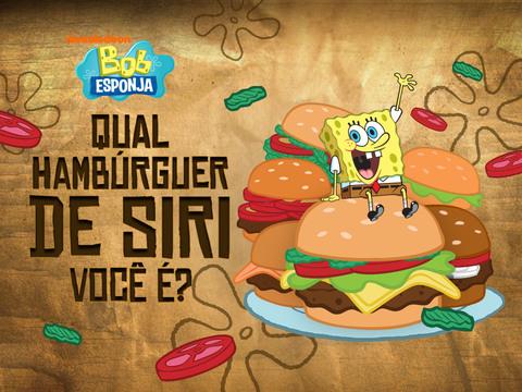 Bob Esponja: Qual Hambúrguer de Siri Você É?