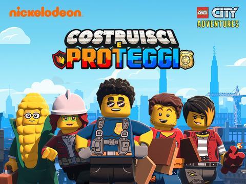LEGO City Adventures: Costruisci e Proteggi