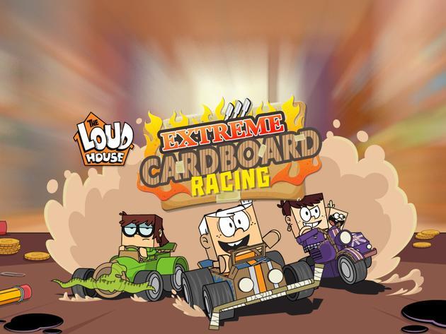 The Loud House: Extreme Cardboard Racing