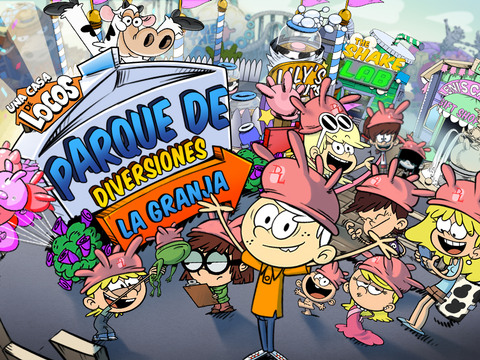 "Loud House: Parque de Diversiones ""La Granja"""
