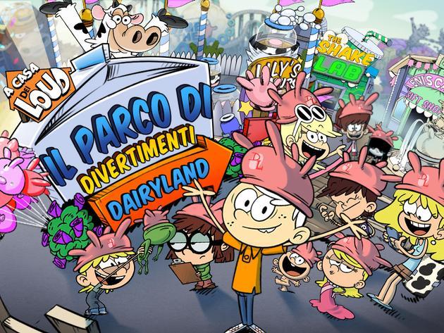 A casa dei Loud: Il parco di divertimenti Dairyland