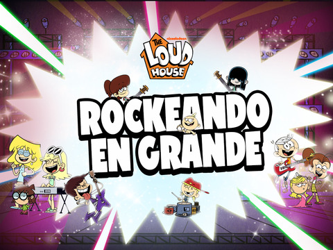 The Loud House: Rockeando en grande