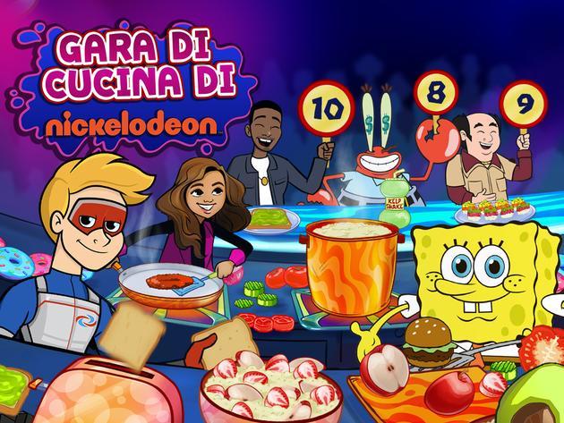 Gara di cucina di Nickelodeon