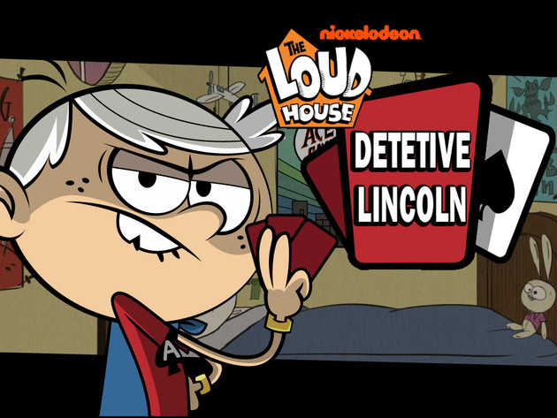Loud House Detetive Lincoln