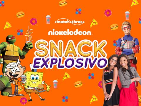 Nickelodeon Snack Explosivo