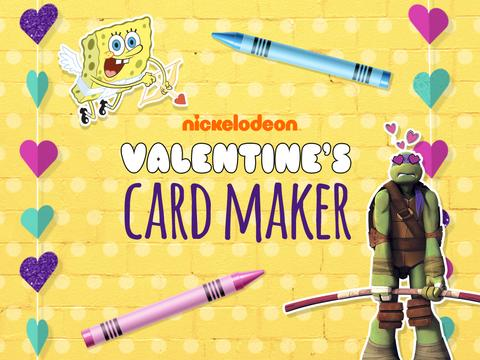 Nickelodeon Valentine's Card Maker
