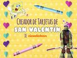 Creador de Tarjetas de San Valentín de Nickelodeon