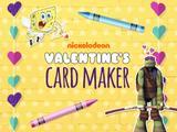 Nickelodeon Valentine's Day Card Maker