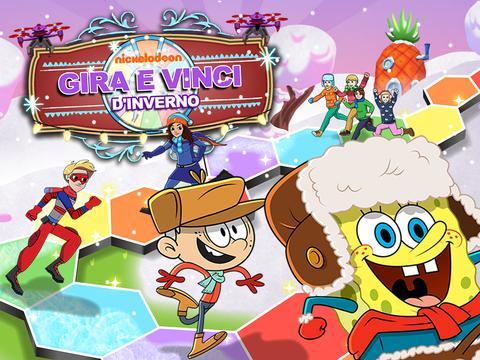 Nickelodeon: Gira e Vinci d'inverno