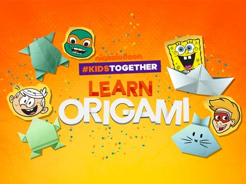 #KidsTogether Learn Origami