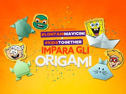 #KidsTogether + #lontanimavicini: Impara gli origami