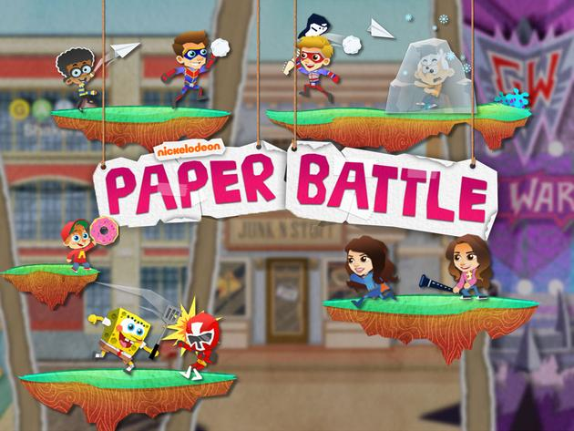 Nickelodeon: Paper Battle