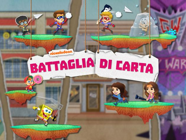 Nickelodeon: Battaglia di carta