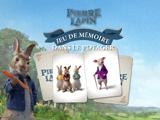 Pierre Lapin: Jeu de Mémoire dans le Potager