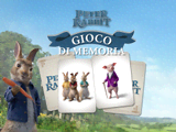 Peter Rabbit: Gioco di memoria