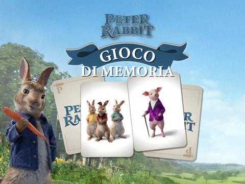 Peter Rabbit: Gioco di memoria