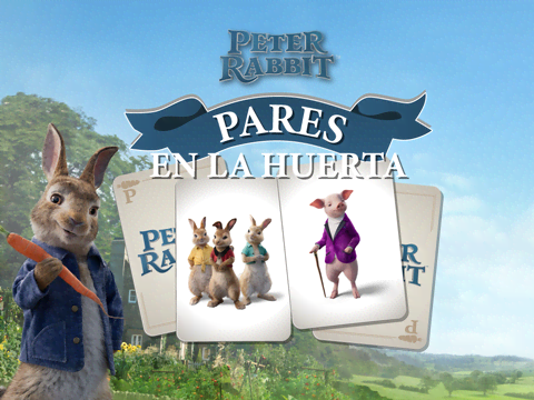 Peter Rabbit: Parejas en la huerta