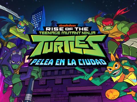 El ascenso de las Tortugas Ninja: Pelea en la ciudad