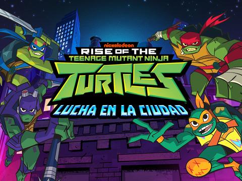 El Ascenso de las Tortugas Ninja: Lucha en la Ciudad