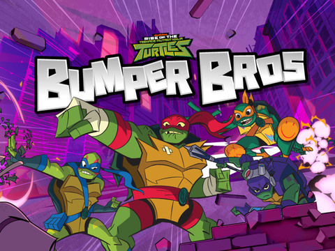 El ascenso de las tortugas ninja: Bumper Bros
