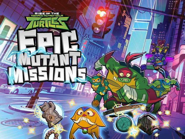 Rise of the Teenage Mutant Ninja Turtles: Epic Mutant-Missions