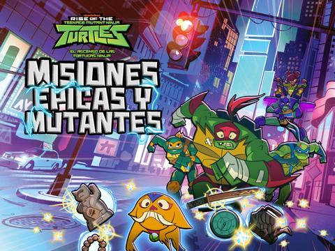 El Ascenso de las Tortugas Ninja: Misiones épicas y mutantes