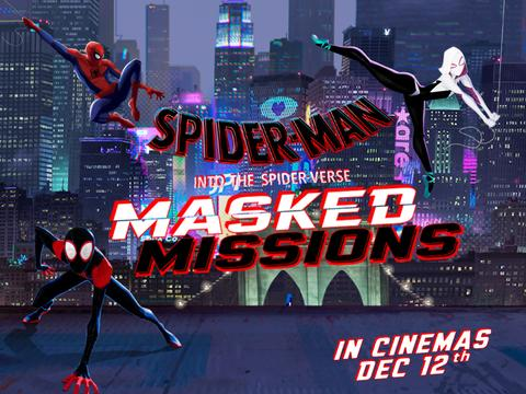 Spiderman: Into the Spiderverse: Masked Missions