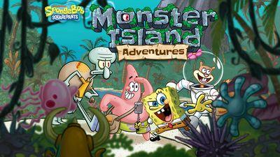 Spongebob Squarepants Monster Island Adventures Nickelodeon
