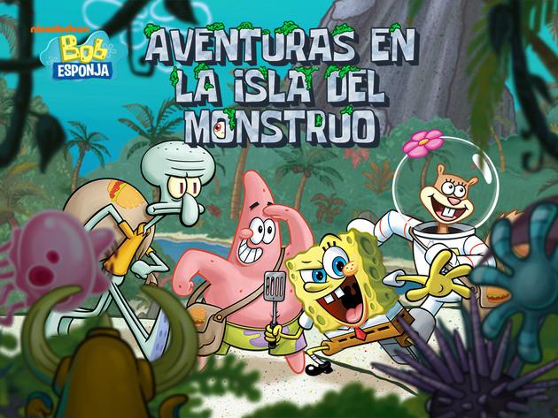 Bob Esponja: Aventuras en la Isla del Monstruo