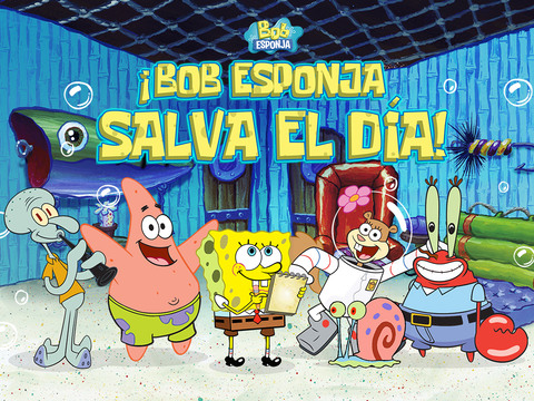 Bob Esponja Pantalones Cuadrados: ¡Bob Esponja salva el día!