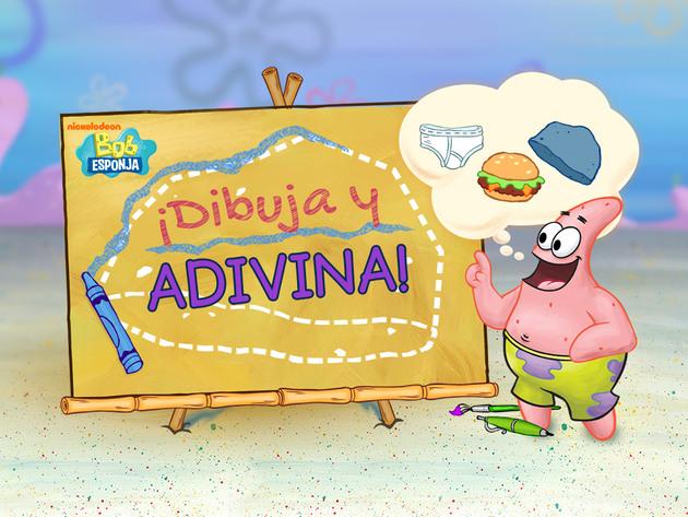 Bob Esponja: ¡Dibuja y Adivina!