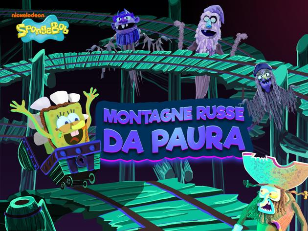 Spongebob: Montagne russe da paura