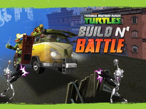 TMNT: Build 'n Battle
