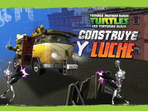 Las Tortugas Ninja: Construye y Lucha